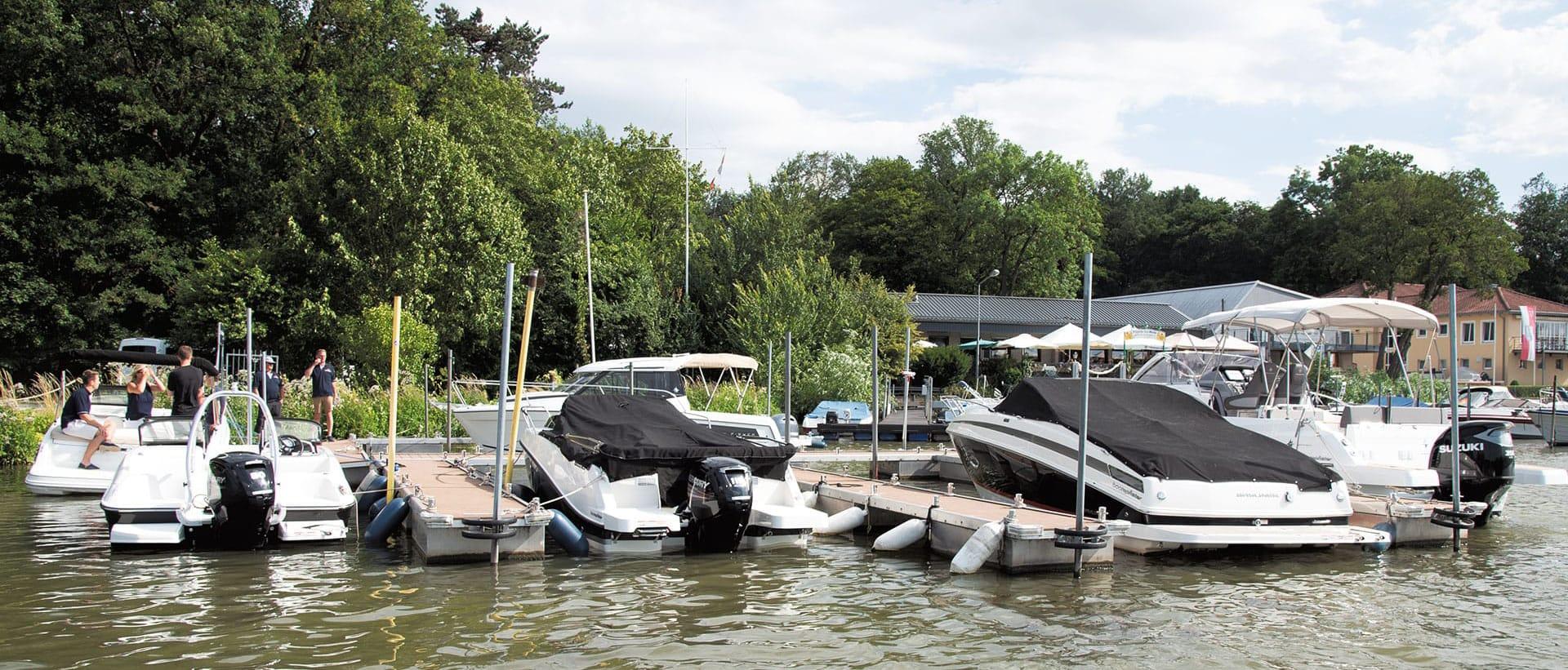 Boote Pfister - Vorführhafen